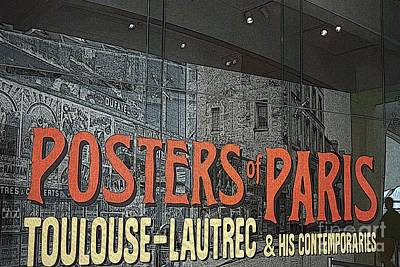 Photograph - Posters Of Paris by David Bearden