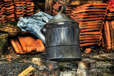 Photograph - Pot by Charuhas Images