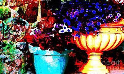Digital Art - Pot Culture 2 by Ankeeta Bansal