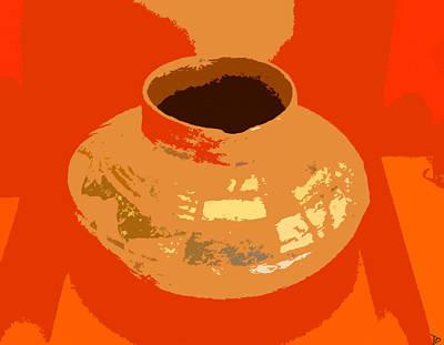Anasazi Digital Art - Pot Of The Old Ones by David Lee Thompson