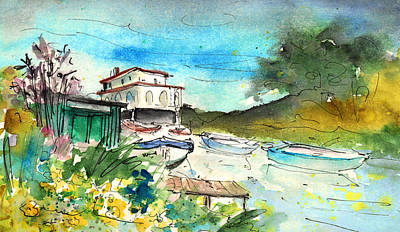 Painting - Potamos Liopetri 03 by Miki De Goodaboom