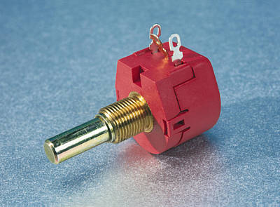 Dimmer Switch Photograph - Potentiometer by Andrew Lambert Photography