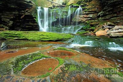 Photograph - Potholes By The Falls by Adam Jewell