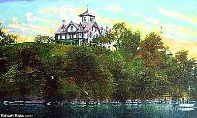 Painting - Potomac Club In Cumberland Md 1909 by Dwight Goss