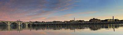 Potomac River Panorama - Washington Dc Art Print by Brendan Reals