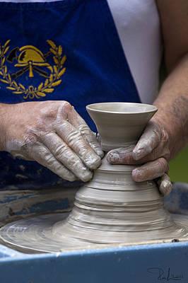 Modeling Clay Photograph - Potter by Raffaella Lunelli