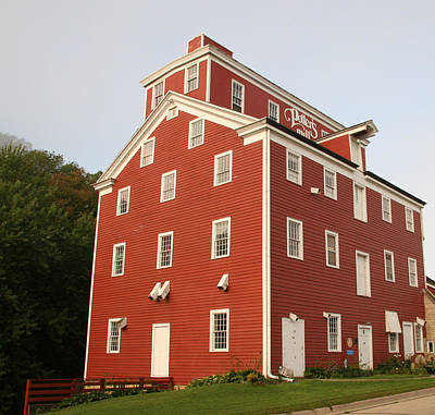 Photograph - Potter's Mill - Iowa's Oldest Grist Mill by Amelia Painter
