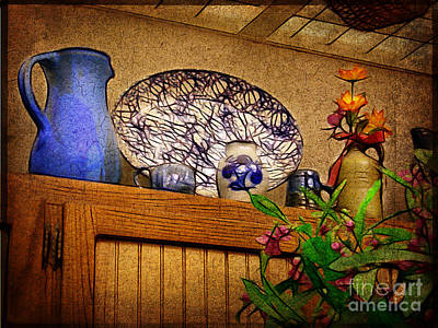 Photograph - Pottery Still Life by Judi Bagwell