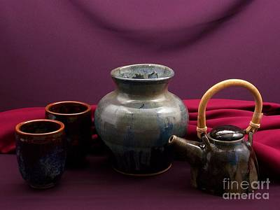 Raku Photograph - Pottery Still Life by Vilas Malankar