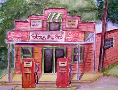 Painting - Pottesville Gro. by Belinda Lawson
