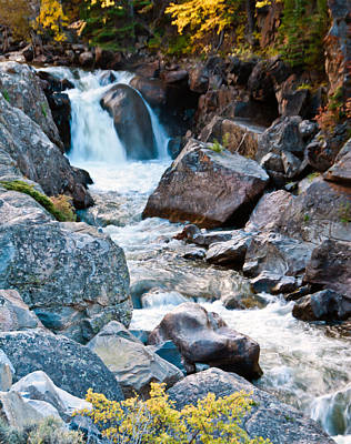 Photograph - Poudre River Falls by Harry Strharsky