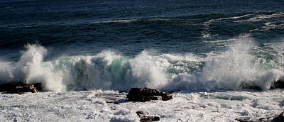 Photograph - Pounding Surf by Greg DeBeck
