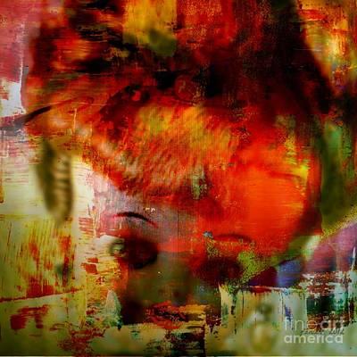 Missing Mixed Media - Poupee's Doll by Fania Simon