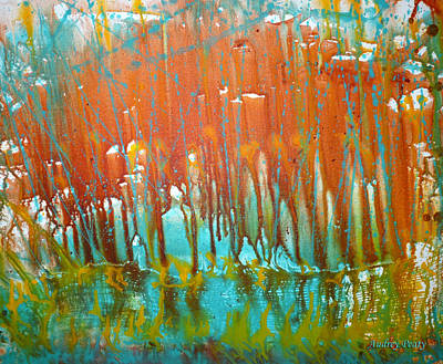 Painting - Pour One by Audrey Peaty