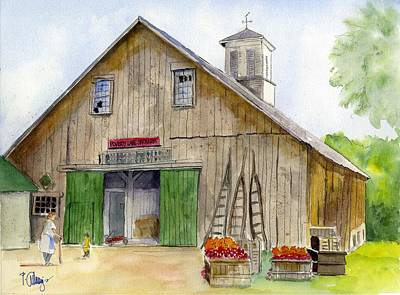 Poverty Farms Orchard Art Print by Paul Cummings