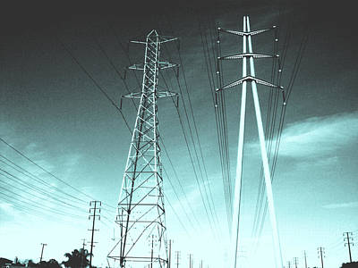 Power Lines Art Print by Jay Reed