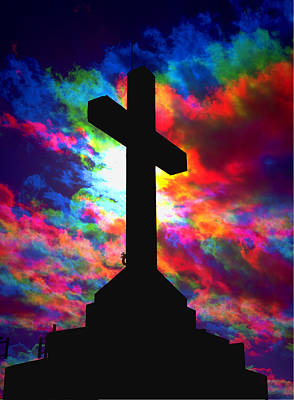 Power Of The Cross Art Print