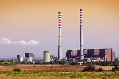 Power Plant Art Print by Carlos Caetano