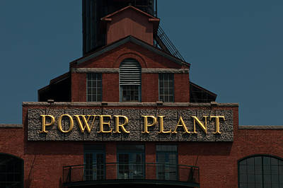 Photograph - Power Plant by Paul Mangold