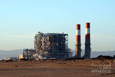 Power Station Art Print by Henrik Lehnerer