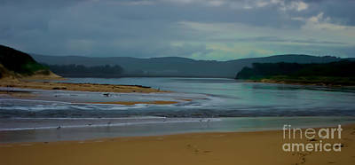 Powlett River Inlet On A Stormy Morning Original by Blair Stuart