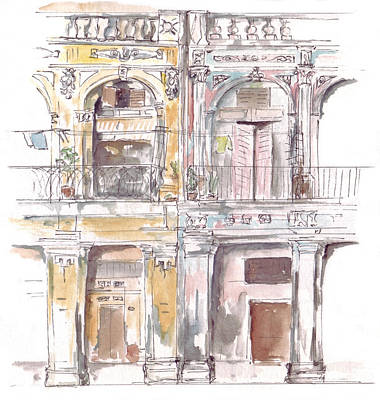 Drawing - Prado by Sue Pownall