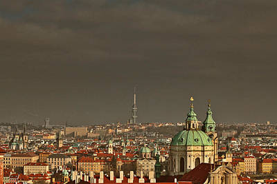 Rooftop Photograph - Prague - A Symphony In Stone by Christine Till