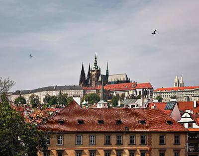 Photograph - Prague Castle by Endre Balogh
