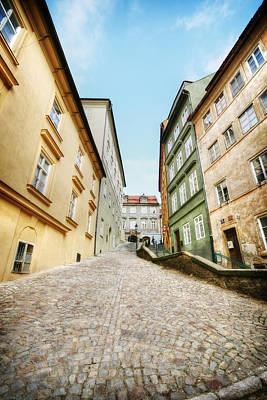 Prague Side Streets 1 Original