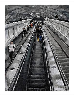 Prague Underground Art Print by Barry Rothstein