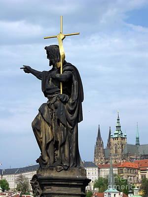 Praha Carlov Most  Art Print