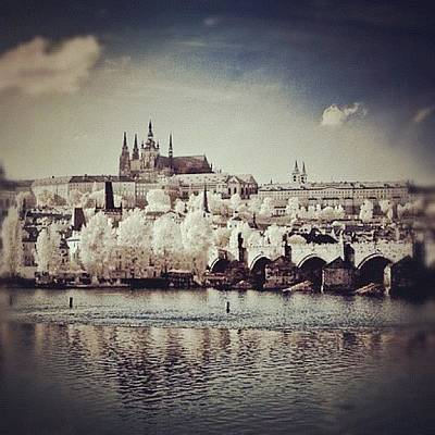Abstract Landscape Wall Art - Photograph - Praha by Magda Nowacka