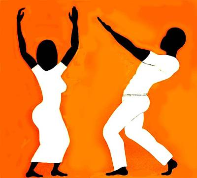 Farishields Painting - Praise Dancers by Far I Shields