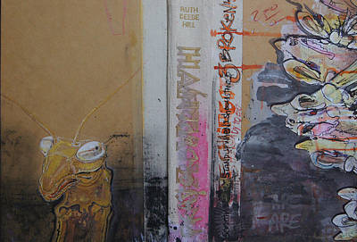 Wall Art - Mixed Media - Pray Or Be Prey by Jeremiah Dirt