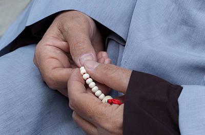 Prayer Beads-2 Original by Mukesh Srivastava