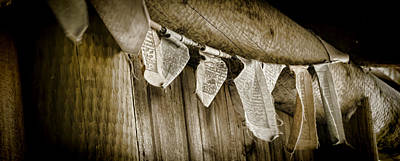Photograph - Prayer Flags by Heather Applegate
