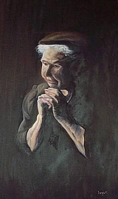 Painting - Prayer by Joyce Reid