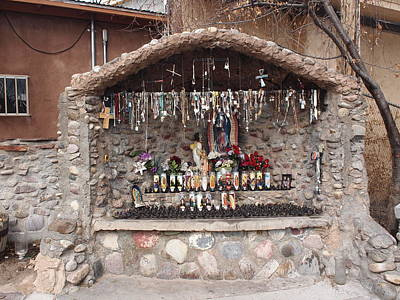 Prayers At Chimayo  Art Print