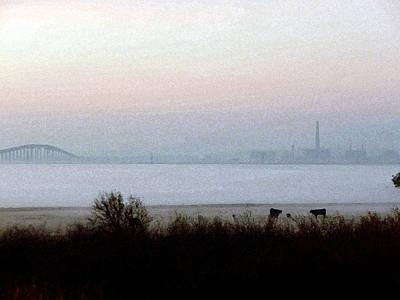 Photograph - Pre-dawn Fog by Afroditi Katsikis