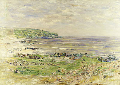 Desolated Painting - Preaching Of St. Columba Iona Inner Hebridies by William McTaggart