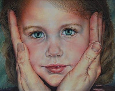 Painting - Precious In His Eyes by Ruth Gee