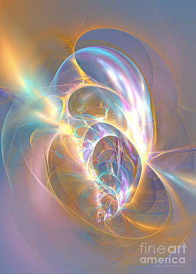 Digital Art - Precious Life - Fractal Art by Sipo Liimatainen