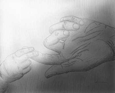 Drawing - Precious Touch by Kume Bryant