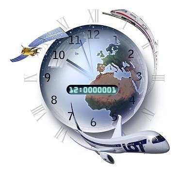 Precision Timing, Conceptual Artwork Art Print by Smetek