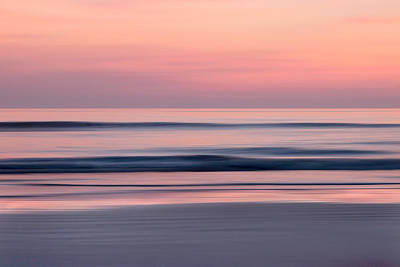 Photograph - Predawn Surf I by Steven Sparks