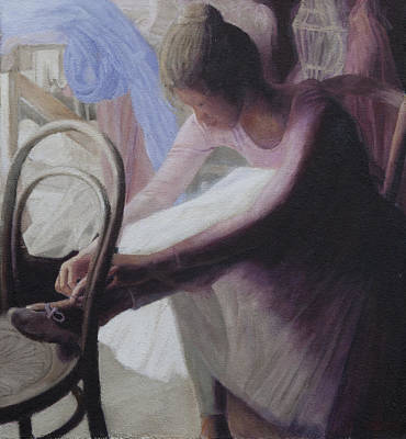 Painting - Prepartaion by Masami Iida