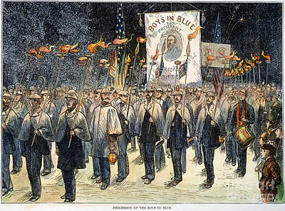 Pres. Campaign, 1876 Art Print by Granger