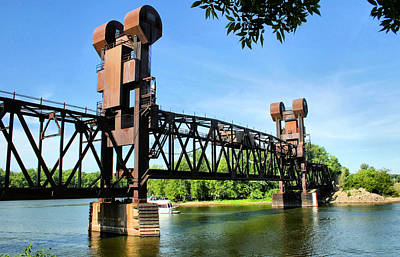 Prescott Photograph - Prescott Lift Bridge by Kristin Elmquist