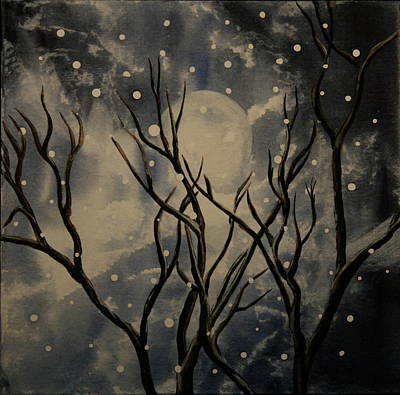 Prescott Snow Storm Art Print