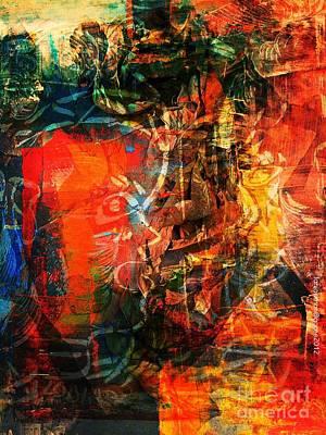Medication Painting - Prescription by Fania Simon
